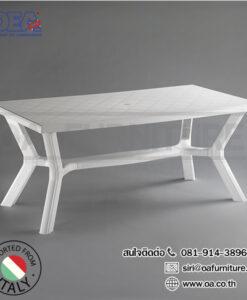โต๊ะพลาสติกะ คาริเบ้ carribe