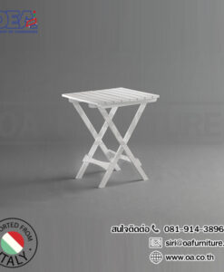 โต๊ะพลาสติกเหลี่ยมพับได้ โรซี่ Roxy 1