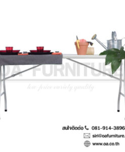 โต๊ะพับอเนกประสงค์ halff 180 (BT-06FJ)