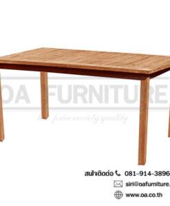โต๊ะไม้สัก TG-150