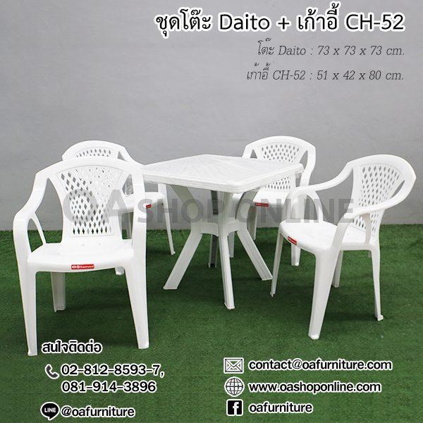 เก้าอี้พลาสติก CH-52